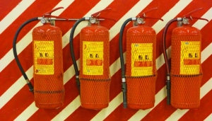 what are the types of fire extinguisher