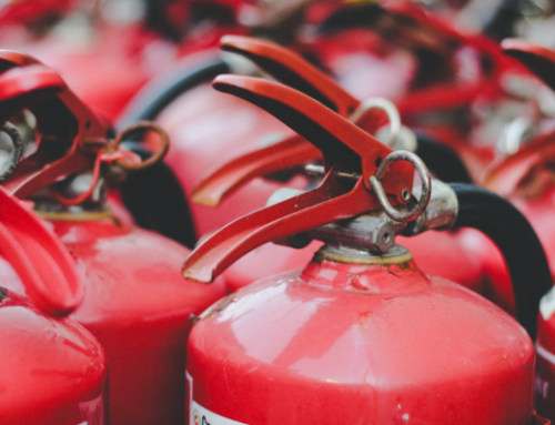 Who can inspect fire extinguishers?