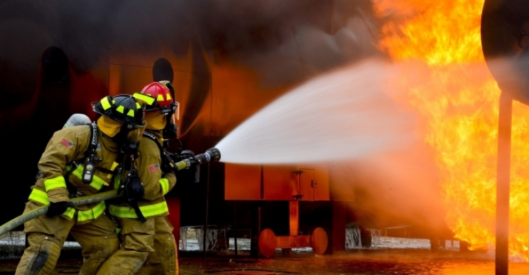 fire fighting equipment for different types of fire