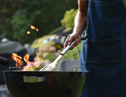 Barbecue fire safety